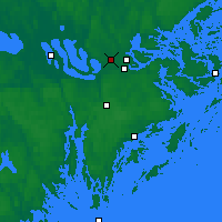 Nearby Forecast Locations - Stockholm - Map