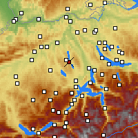Nearby Forecast Locations - Mosen - Map