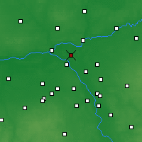 Nearby Forecast Locations - Legionowo - Map