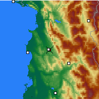 Nearby Forecast Locations - Yzberisht - Map