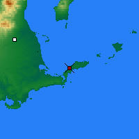 Nearby Forecast Locations - Nemuro - Map