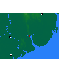 Nearby Forecast Locations - Yangon - Map