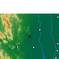 Nearby Forecast Locations - U Thong Agromet - Map