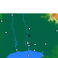 Nearby Forecast Locations - Don Mueang - Map