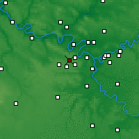 Nearby Forecast Locations - Versailles - Map