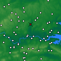 Nearby Forecast Locations - Cheshunt - Map
