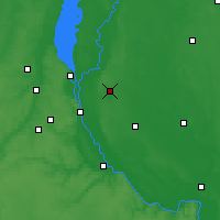 Nearby Forecast Locations - Brovary - Map